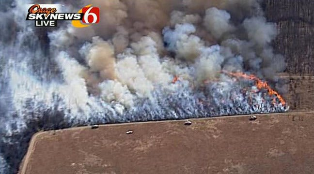 Massive Wildfire Largely Under Control In Washington County