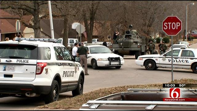 Two Arrested In Claremore Standoff