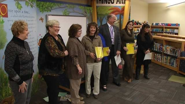 Five Sand Springs Schools Receive 20 iPad Minis Each