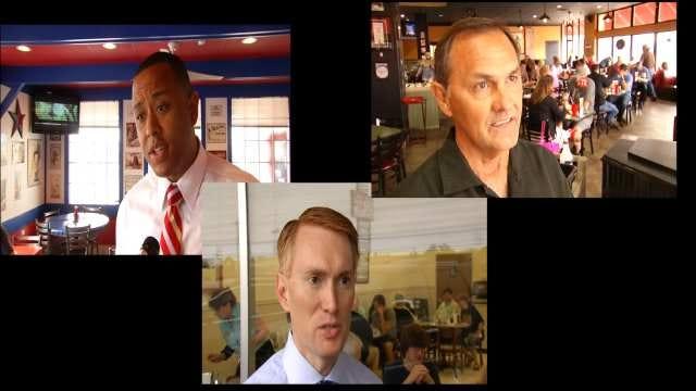 U.S. Senate Candidates Make Last Minute Sweep Through Tulsa