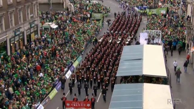 Pride Of Owasso Gets Top Honors In St. Patrick's Day Parade In Dublin