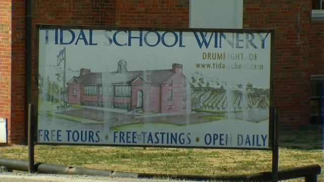 Drumright's Historic Winery Auctioned Off