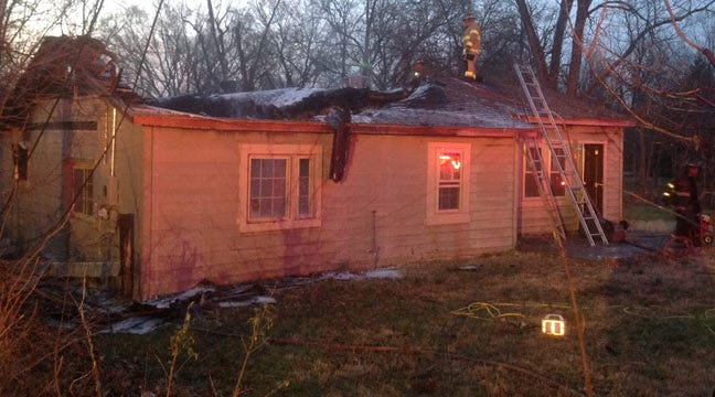 East Tulsa House Badly Damaged By Early Morning Fire