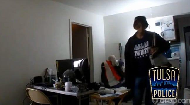 Tulsa Police Release Video Of Burglary Suspect