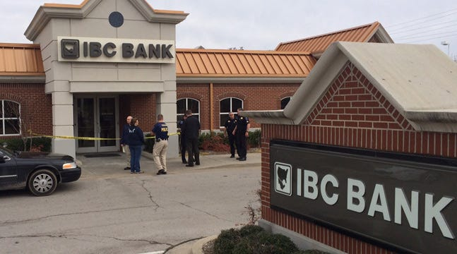 Tulsa Police Look For IBC Bank Robber