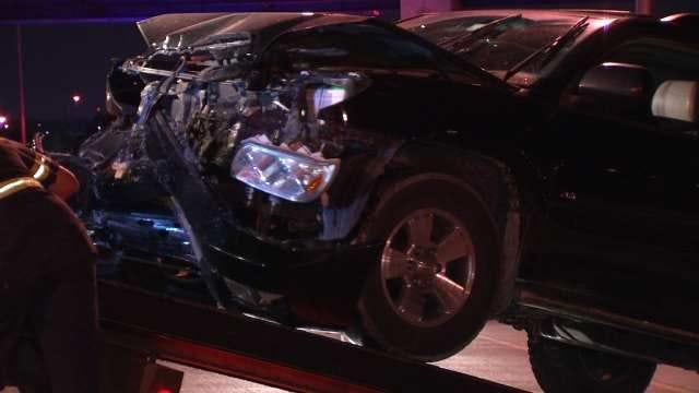 OHP Arrests Driver On DUI Complaint After Tulsa Highway Crash