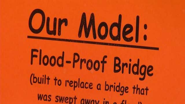 'Flood-Proof' Bridge Design Sends Tulsa Girl Scouts To White House