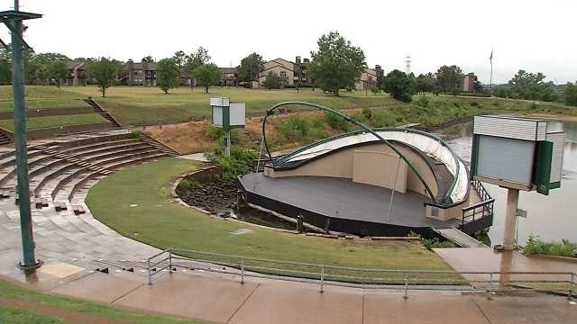 Floating Away, Tulsa's Floating Stage Being Sold Or Demolished