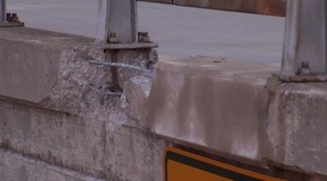 Collinsville Woman Hurt When Car Hit By Falling Concrete