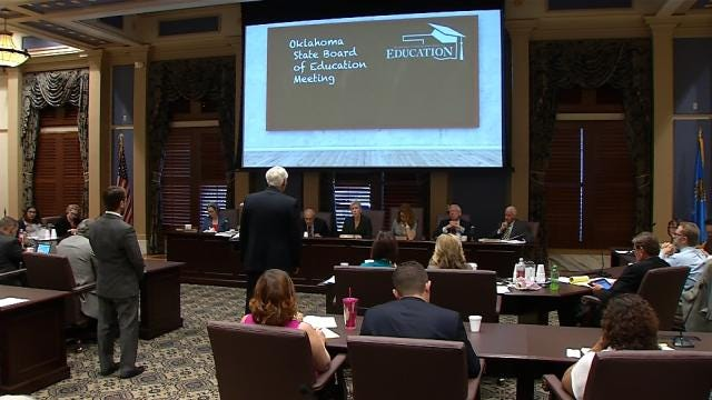 Oklahoma State Board: Signing McGraw Hill Testing May Be 'Unavoidable'
