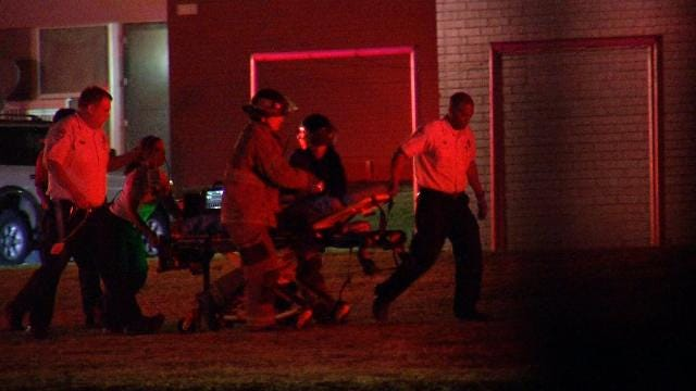 Tulsa Police: Baby Dies Following Tulsa Apartment Fire