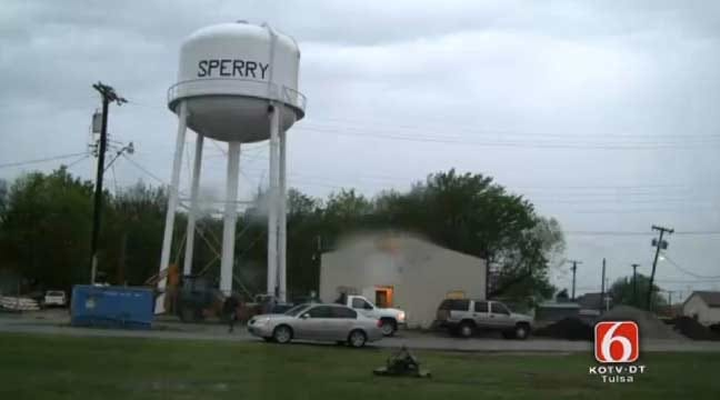 Some Water Restored To Sperry, Schools Closed Monday