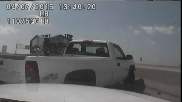 Dash Cam Video Shows Crashes In Highway 75 Oil Spill