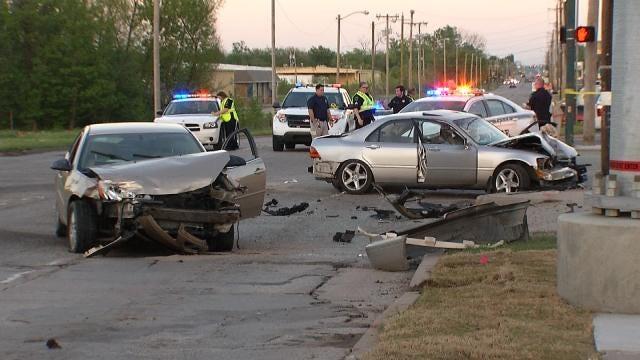 Police: Drunk Driver Tries To Hide After Fatal North Tulsa Crash
