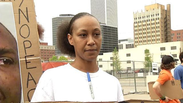 Protesters Call For Tulsa County Deputies' Jobs