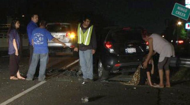 Wrong-Way Driver Injures Tulsa Woman