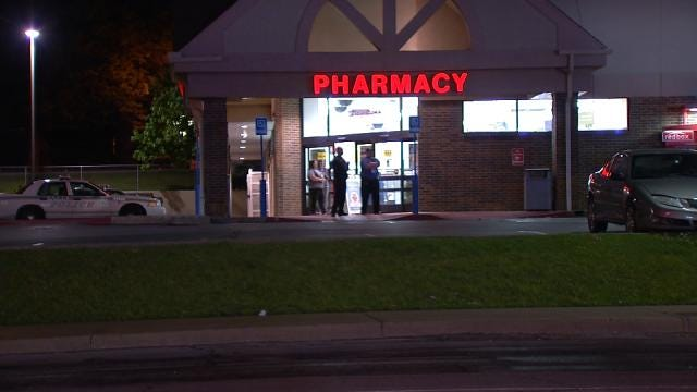 Police Release Video Of Suspected Tulsa Walgreens Robber