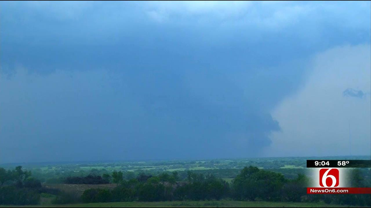 News On 6 Storm Trackers Capture Texas Tornado On Video