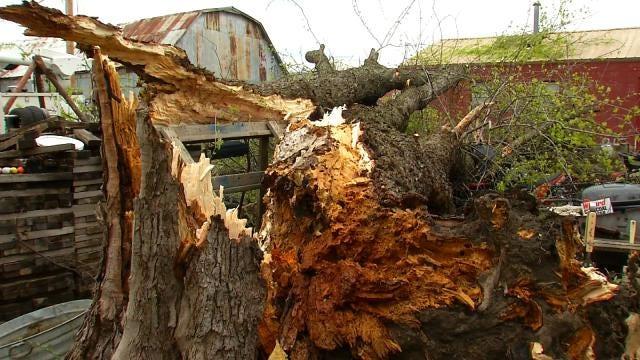 Storm Knocks Out Power To Half Of Chetopa, Kansas