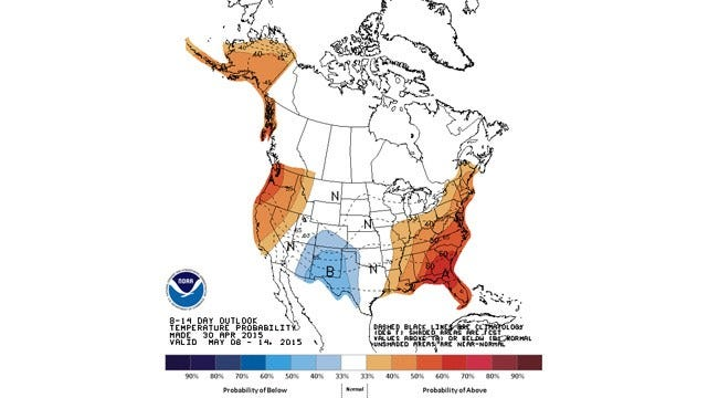 Dick Faurot's Weather Blog: Warming Trend, Unsettled Next Week