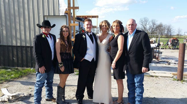 Tornado Can't Stop Afton Residents From Heading To Prom