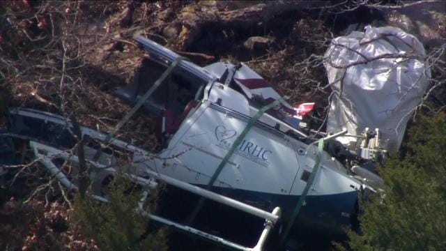 NTSB Releases First Report On Fatal EagleMed Helicopter Crash Near Eufaula
