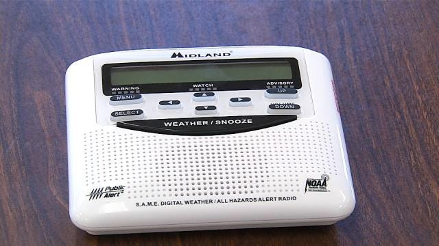 Tulsa Company Donates Weather Radios To Every Public School In Oklahoma