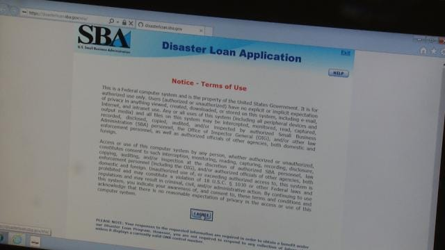 SBA Offering Loans To Sand Springs, Tulsa Tornado Victims