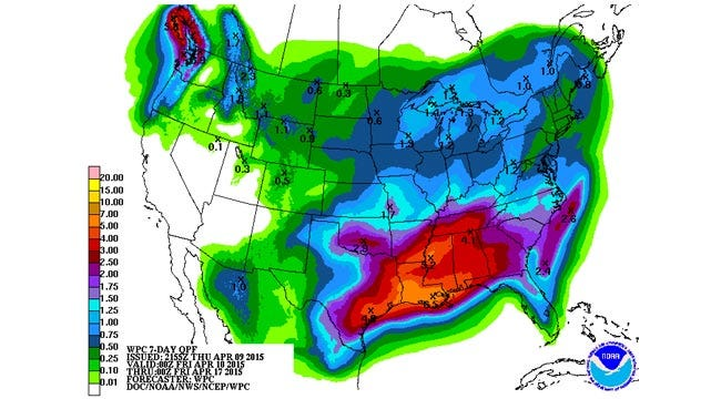 Dick Faurot's Weather Blog: Finally A Break, At Least For A Day Or Two