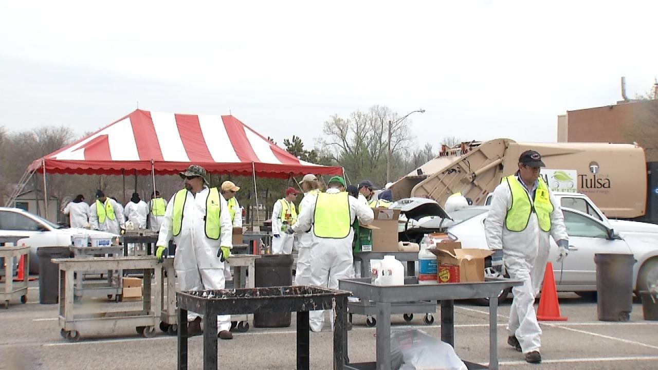 City Wants Permanent Hazardous Material Drop Off Location