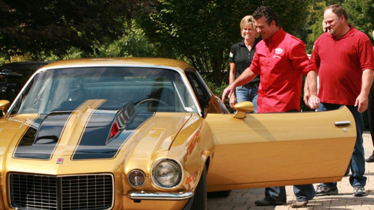 Stolen Papa John's Camaro Found In Abandoned Lot