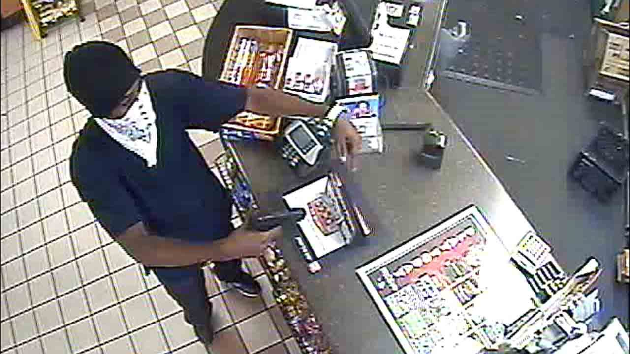 Okmulgee Police Search For Armed Robber