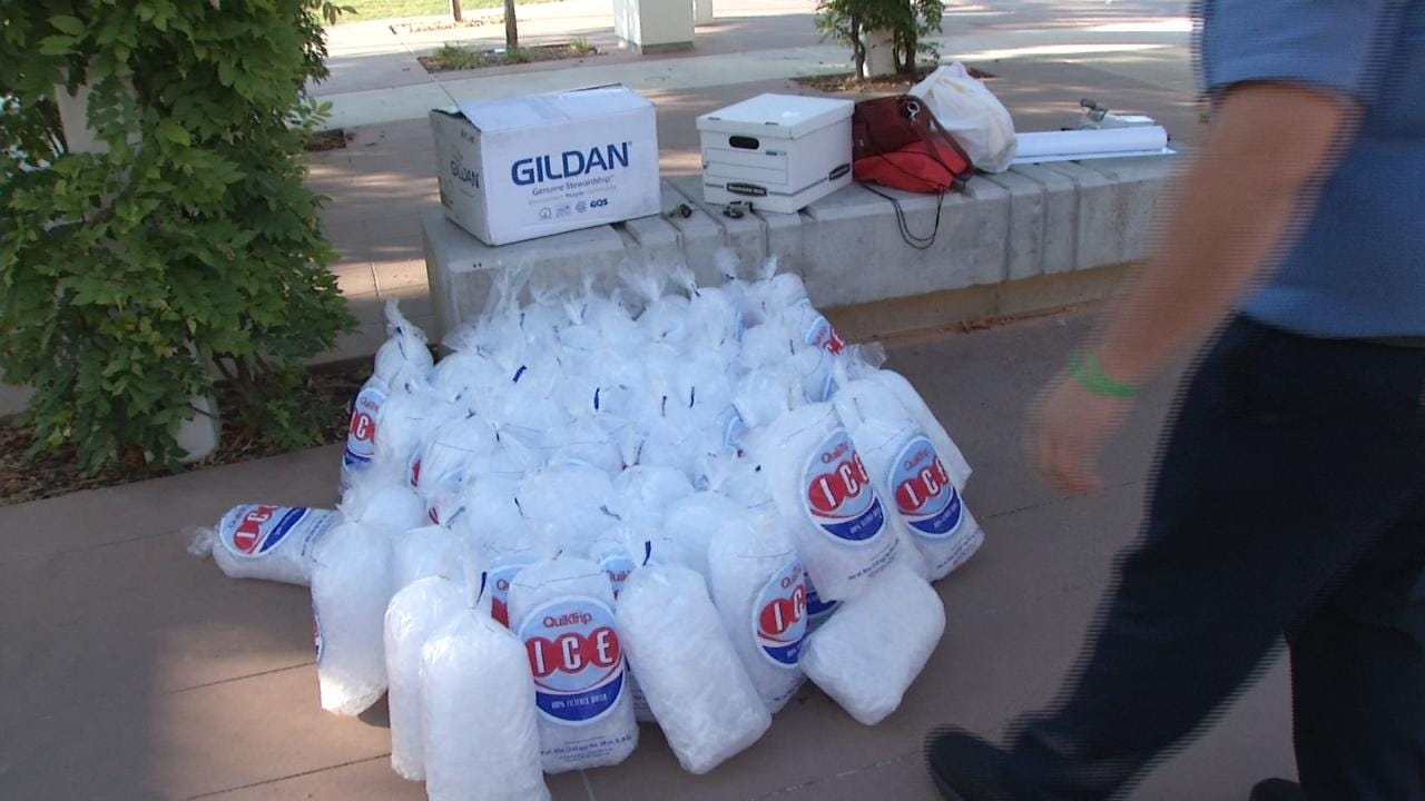 Tulsans Hope To Start Second Wave Of Ice Bucket Challenges