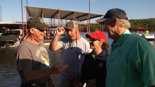 Craig And Chera Head To Fort Gibson Lake To Fish With Faurot