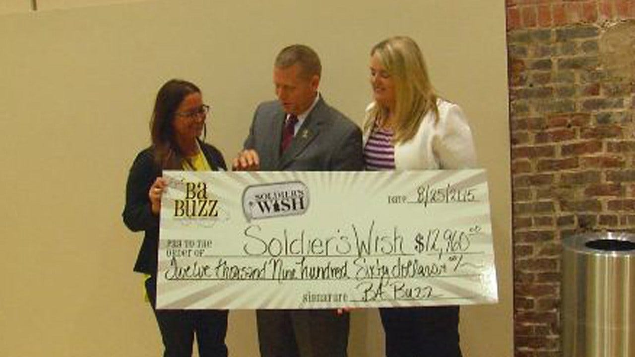 'Soldier's Wish' Gets Big Donation From Broken Arrow Group