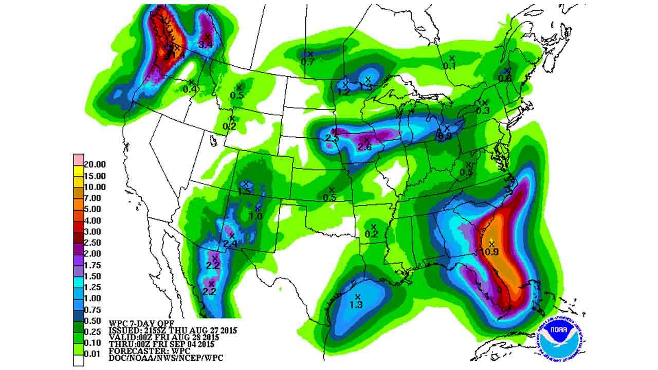 Dick Faurot's Weather Blog: Rain Chances Through Saturday