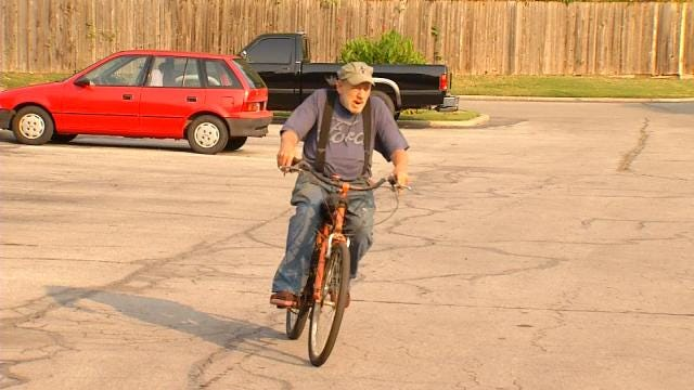 Disabled Tulsa Man 'Gets Freedom Back' Thanks To Bike Donation