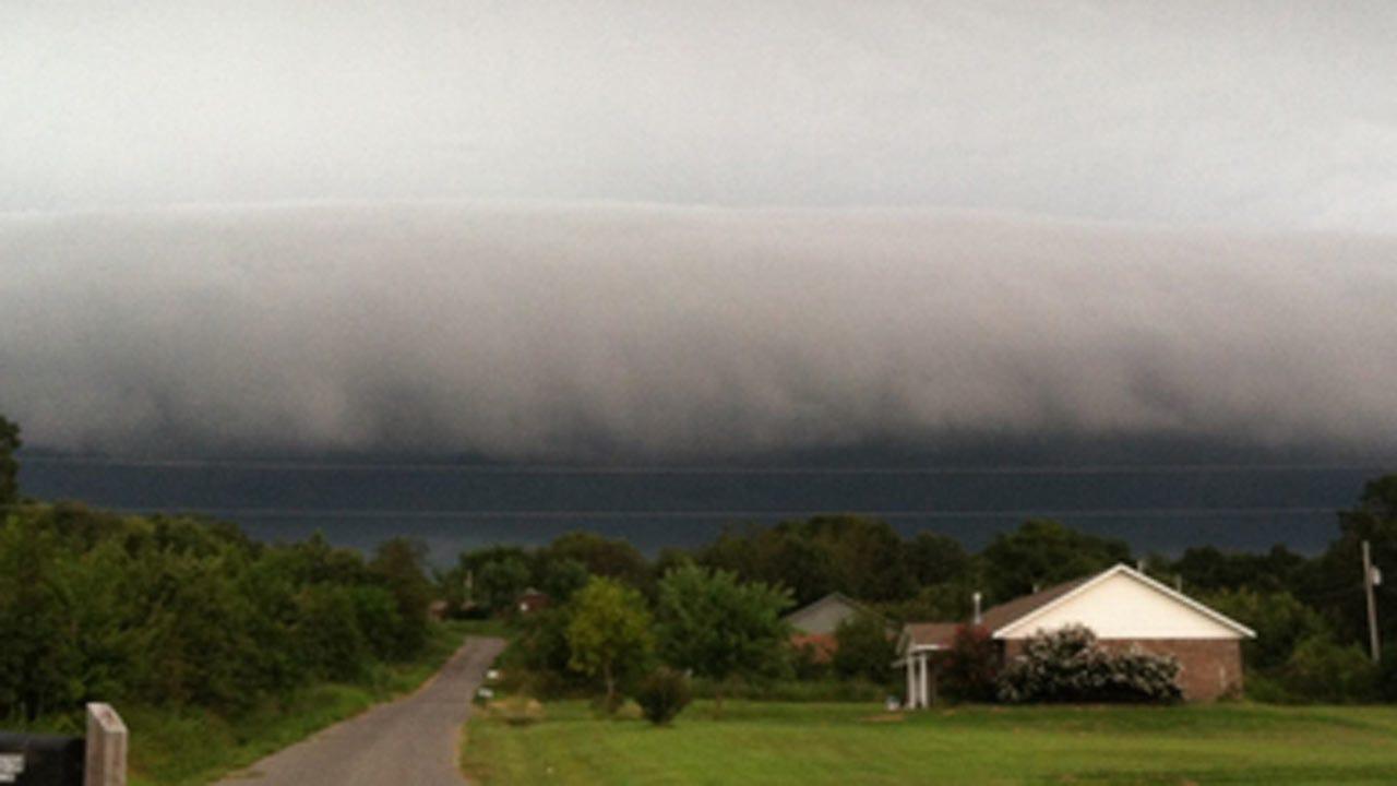 Heavy Rains Moving Across Northeast Oklahoma