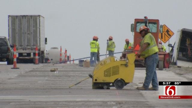 Domino Delays Affecting Tulsa Road Projects