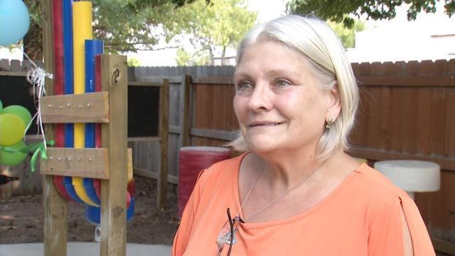 Wheelchair Accessible Playground Brings Smiles To Tulsa Children