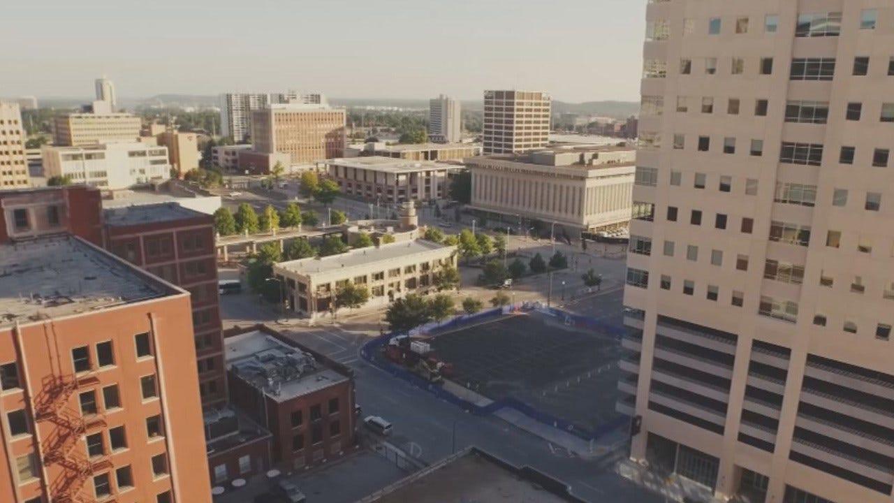 Filmmakers, Developer Use Drone To Showcase Tulsa