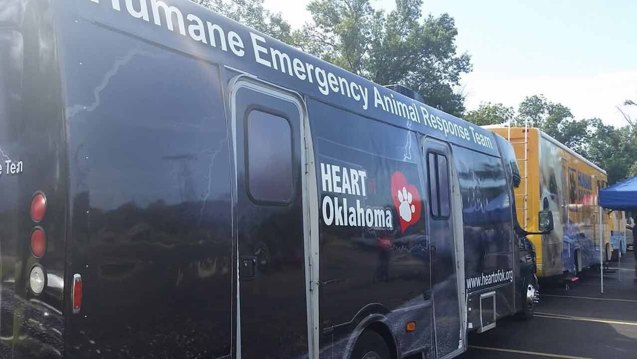 Medical Volunteers Train To Help Oklahoma Wildfire Victims