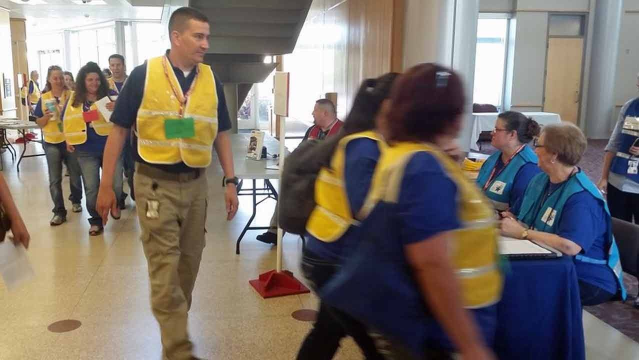Oklahoma Volunteers Train For Wildfire Response