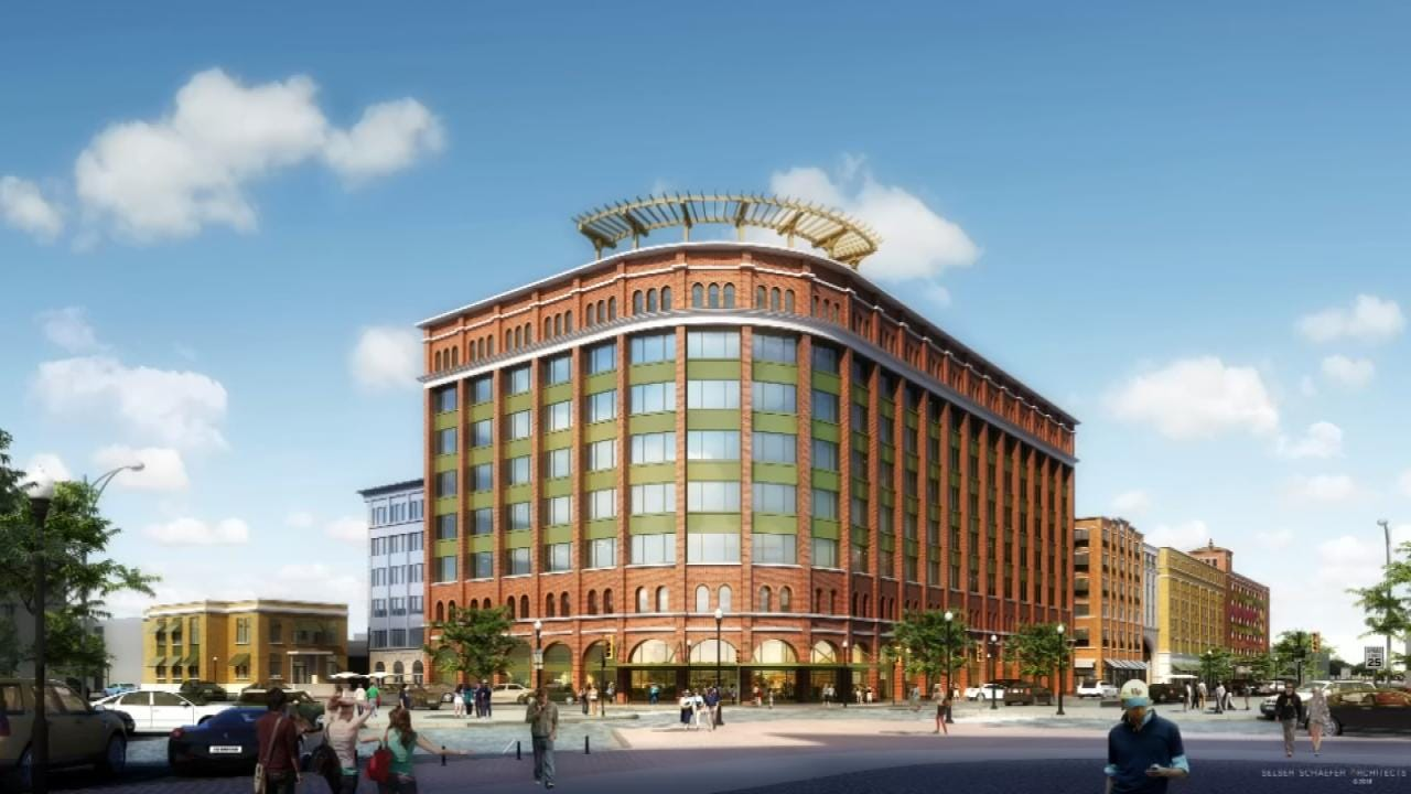 Developer Has Plans For $150M Project For Blue Dome District