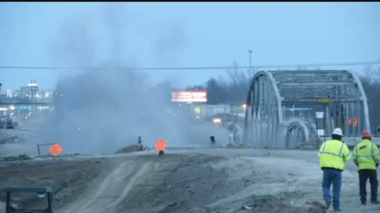 WATCH NOW: Bird Creek Bridge Implosion Near Owasso
