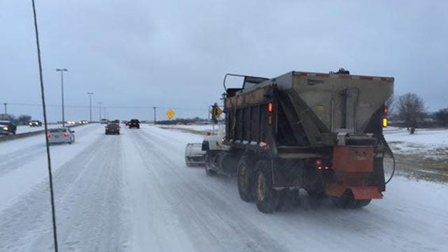 State Road Crews Treating Northeastern Oklahoma Roads