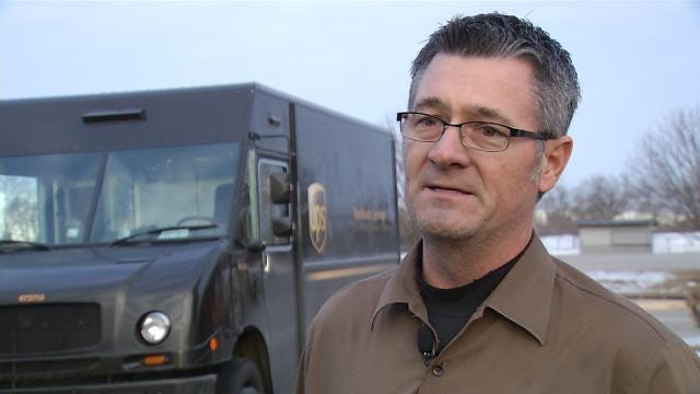 UPS Driver, Honored For Safety, Offers Tips To Tulsans