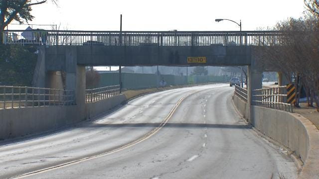 Demolition Of Riverside Pedestrian Bridge First Of Many Upcoming Detours