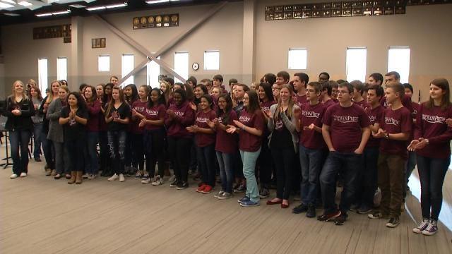 Jenks Marching Band To Lead 2015 Tulsa Heart Walk