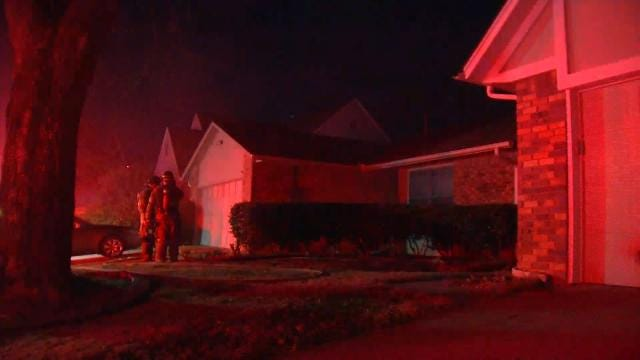 Tulsa Woman Injured Climbing Out Window To Escape Fire